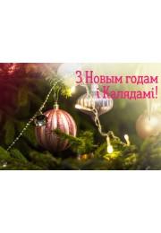 З Новым 2019 годам і Калядамі!